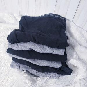 Men's Briefs Bundle, Men's Hanes Underwear 6-pack